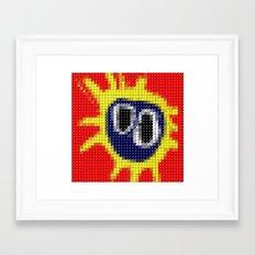 Primal Scream - Screamadelica - Pantone Pop Framed Art Print