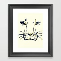 King Of Beasts Framed Art Print
