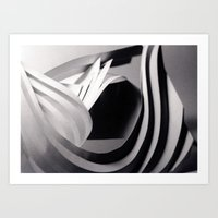 Paper Sculpture #4 Art Print