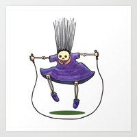 Jumprope Girl Art Print