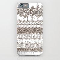iPhone & iPod Case featuring Pumpkin Patch by PiqueStudios