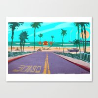 Canvas Print featuring Oside by ~emroca~