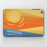Beach Sunset iPad Case