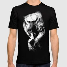 The Werewolf Mens Fitted Tee Black SMALL