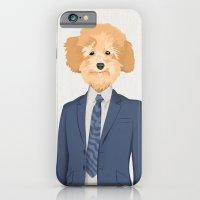 Posing Poodle iPhone 6 Slim Case