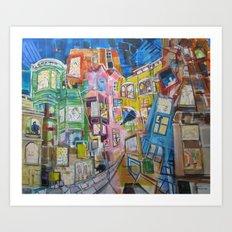 The Apartments Art Print