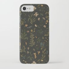 Old World Florals Slim Case iPhone 7