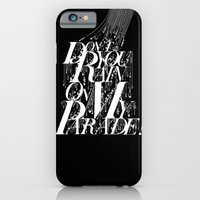 iPhone & iPod Case featuring Don't You Rain On My Parade! by Zippora Lux