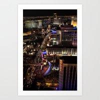 Vegas Strip Art Print