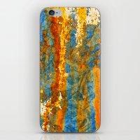 Yellow river iPhone & iPod Skin