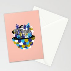 Running Horses Stationery Cards