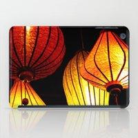 Neon Lanterns iPad Case