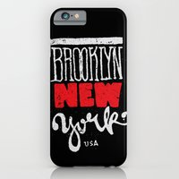 iPhone & iPod Case featuring Brooklyn New York by Andrei Robu