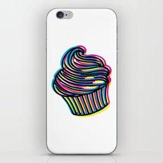 CMYK Cupcake iPhone & iPod Skin
