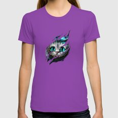 Chesire - Smile Womens Fitted Tee Ultraviolet SMALL