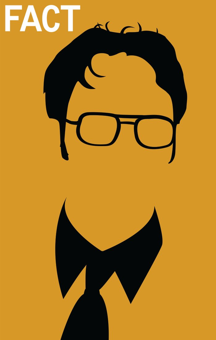 Dwight Schrute Art Print by Stacia Elizabeth