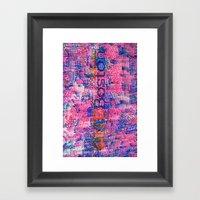 One Boston, Version 2 Framed Art Print