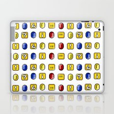 Coins, Boxes and Power ups, Oh my! Laptop & iPad Skin