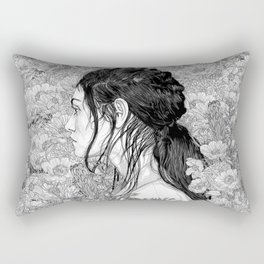 Rectangular Pillow - Love is in Beauty and Chaos - PedroTapa