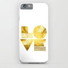 LOVE Typography Art iPhone 6 Slim Case