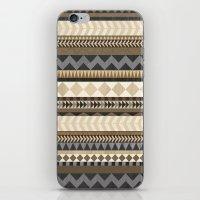 Dusty Aztec Pattern iPhone & iPod Skin