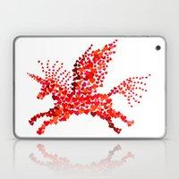Extremely hearty unicorn pegasus Laptop & iPad Skin