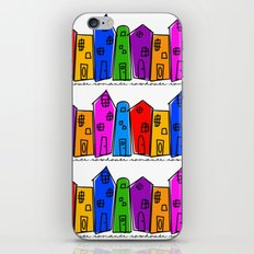 Rowhouse Romance iPhone & iPod Skin