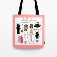 Doll-face Audrey Tote Bag