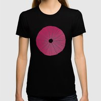Sea's Design - Urchin Sk… Womens Fitted Tee Black SMALL