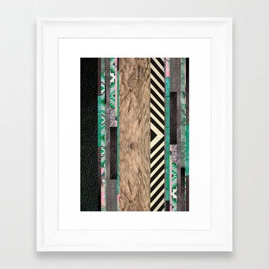 REBEL/BIOME *COM Framed Art Print