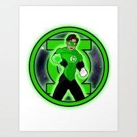 Go Green! Art Print