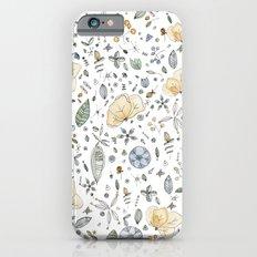 Flower Garden Watercolor iPhone 6 Slim Case