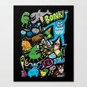 Bonk 2 Canvas Print