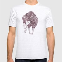 Sheep Mens Fitted Tee Ash Grey SMALL