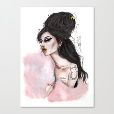 You sen't me flying amy W Canvas Print