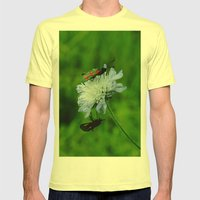 The Lovebugs Mens Fitted Tee Lemon SMALL