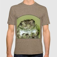 Frog Mens Fitted Tee Tri-Coffee SMALL