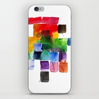 Trickle Down Effect iPhone & iPod Skin