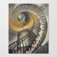 Staircase 2 Canvas Print