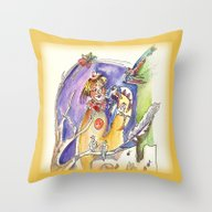 RB Bird Song Throw Pillow