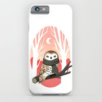 iPhone & iPod Case featuring Winter Owl by Freeminds