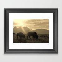 History on Hooves Framed Art Print