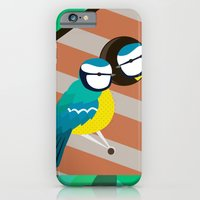 Blue Tit iPhone 6 Slim Case