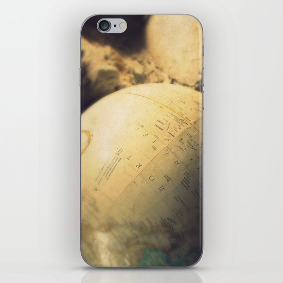 If I Could Travel The World iPhone & iPod Skin