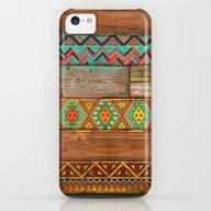 Indian Wood iPhone 5c Slim Case
