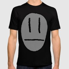 My head's not that big!! SMALL Black Mens Fitted Tee