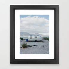Mexicoast Trailer Life Framed Art Print