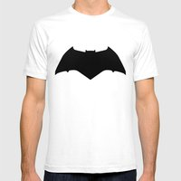 Dawn Of Justice : Bat Sy… Mens Fitted Tee White SMALL