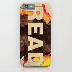 Read on Abstract Watercolor Background iPhone 6 Slim Case