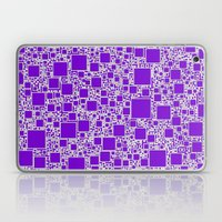 Boxes Purple Laptop & iPad Skin